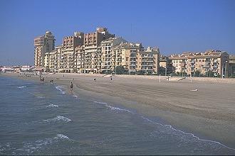 Cunit costa dorada ferienwohnung oder ferienhaus for Spiaggia malvarrosa valencia