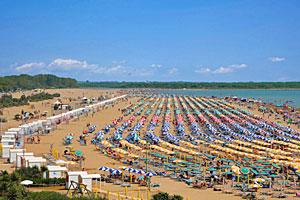 Italien Obere Adria Karte.Italienische Adria Badeurlaub Strande Und Buchten An Der