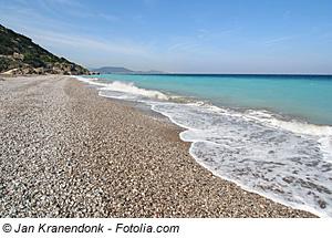 Griechenland Sandstände Traumstrände Strand Strände Urlaub